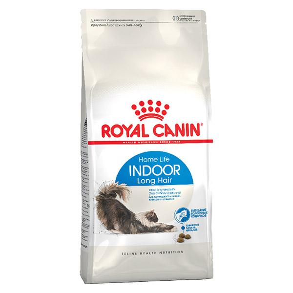 ROYAL CANIN Indoor Long Hair, с/к для домашних длинношерстных кошек