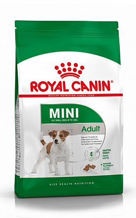 ROYAL CANIN Mini Adult, сухой корм для собак мелких пород до 10кг