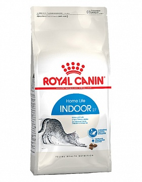 ROYAL CANIN Indoor  сухой полноценный корм для кошек от 1 до 7 лет, живущих в помещении